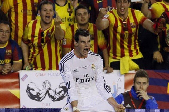 Le Real Madrid, grâce à un chef-d'oeuvre de puissance de Gareth Bale, a... (Photo: Reuters)