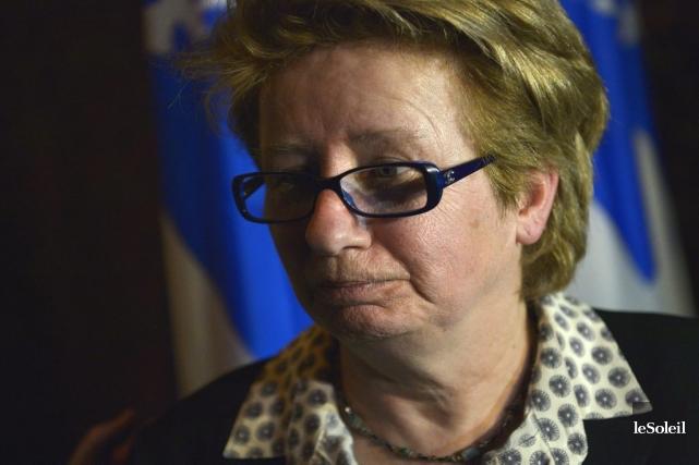 Mme Maltais a déclaré que le cabinet de... (Photo Le Soleil, Yan Doublet)
