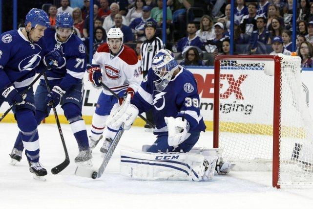 Relisez le clavardage du premier match de la série Canadien-Lightning avec nos... (Photo: Reuters)