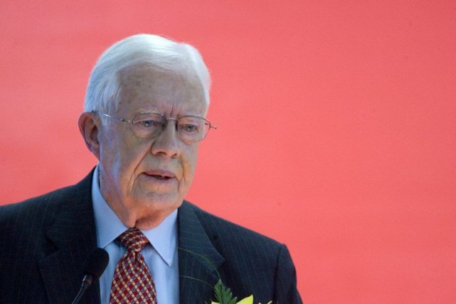 Jimmy Carter... (Photo Bloomberg)