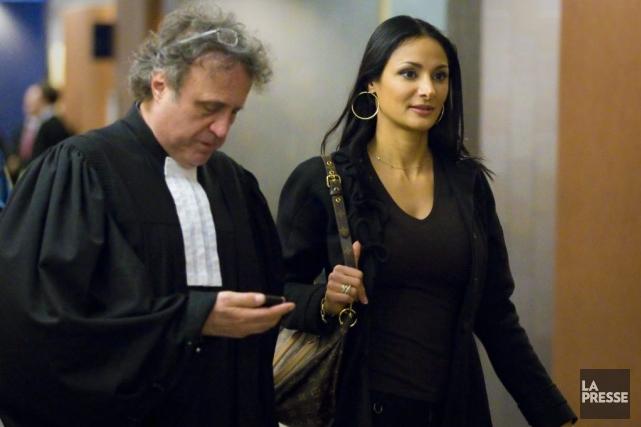 Joëlle Chélala, qui est toujours courtière immobilière agréée... (Photo André Pichette, La Presse)