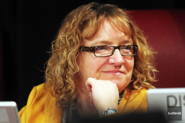 Sylvie Goneau... (Étienne Ranger, Archives LeDroit)