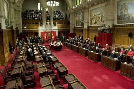 Le Sénat du Canada.... (Photo Archives)