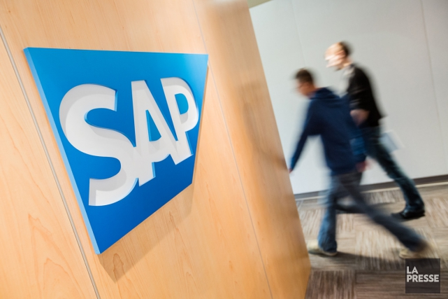 L'allemand SAP va supprimer 2200 postes pour s'adapter à son nouveau modèle de... (PHOTO ÉDOUARD PLANTE-FRÉCHETTE, ARCHIVES LA PRESSE)