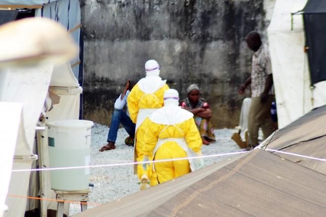 La Guinée fait face à une épidémie de... (PHOTO CELLOU BINANI, ARCHIVES AFP)