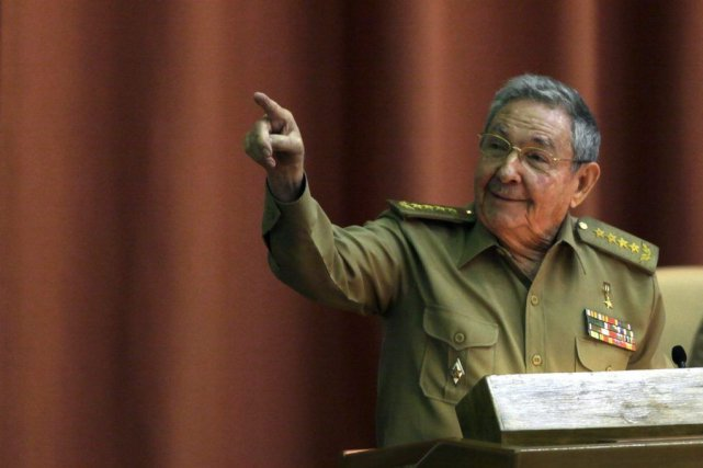 Raul Castro.... (Photo Ismael Francisco, AP)