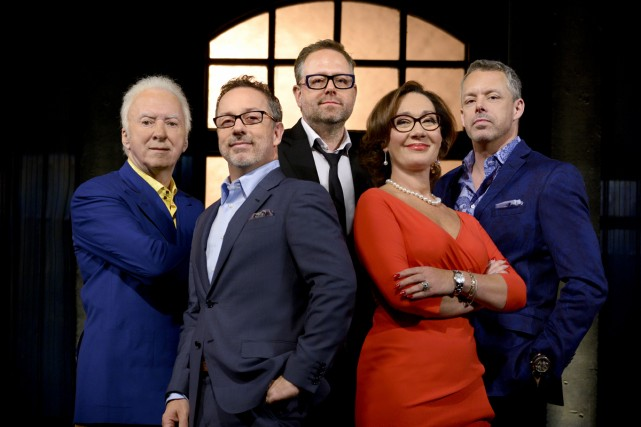 Gaétan Frigon, Serge Beauchemin, Alexandre Taillefer, Danièle Henkel... (Photo: fournie par ICI Radio-Canada Télé)