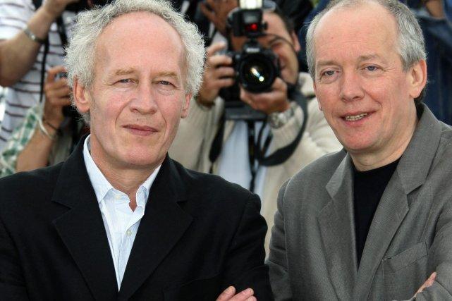 Les Belges Jean-Pierre et Luc Dardenne, déjà double... (Photo: archives Reuters)
