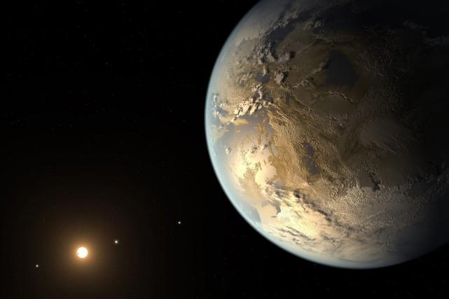 Kepler-186f se trouve dans un système stellaire à... (PHOTO NASA AMES, SETI INSTITUTE, JPL-C, AP)