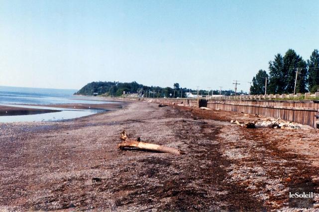 La plage où a été retrouvé le corps... (Photothèque Le Soleil)