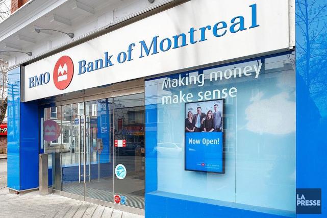 En mars dernier, la Banque de Montréal avait... (Photo archives La Presse)