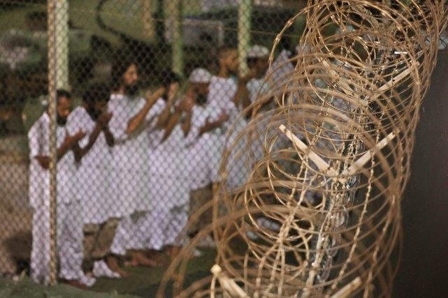 Le juge militaire de Guantanamo a ordonné au gouvernement américain de... (Photo archives AP)