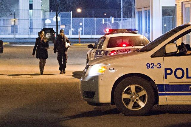 Les coups de feu ont été tirés à... (Photo Félix O. J. Fournier, collaboration spéciale)