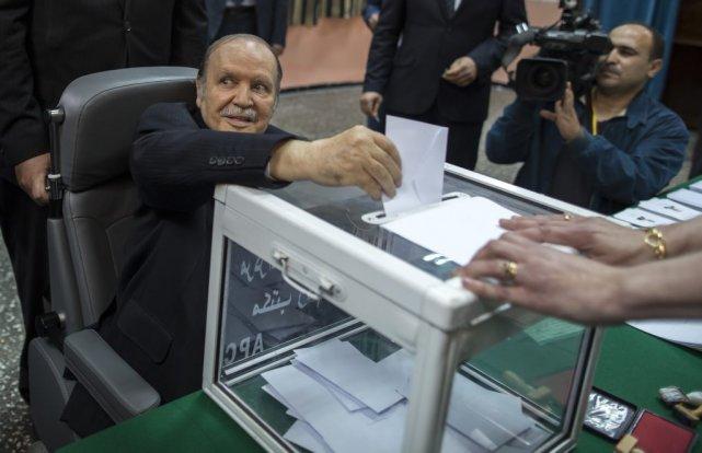 «J'adresse mes remerciements à l'ensemble de notre peuple... (Photo Zohra Bensemra, archives Reuters)