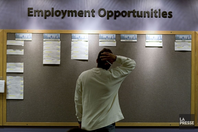 Le taux de chômage aux États-Unis est au... (Photo archives Bloomberg)