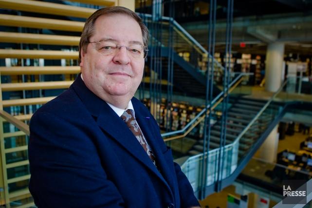 Guy Berthiaume, le président et directeur généralde Bibliothèque... (PHOTO ANDRÉ PICHETTE, ARCHIVES LA PRESSE)