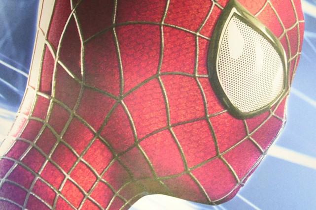 Une représentation de Spiderman... (Photo John MacDougall, Agence France-Presse)