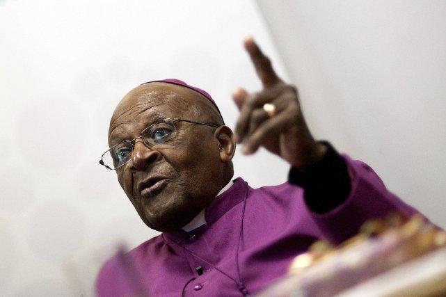 Desmund Tutu... (PHOTO RODGER BOSCH, AFP)