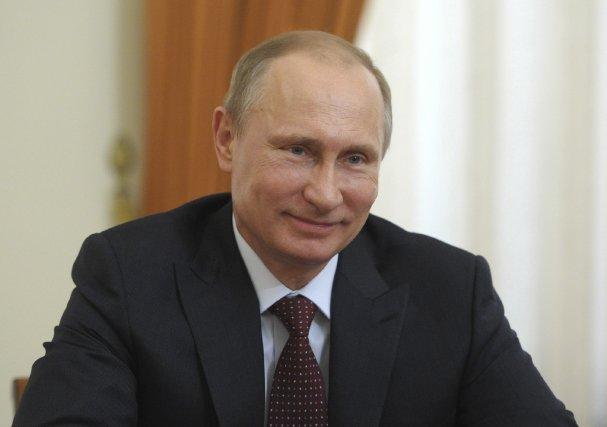 Le président russe Vladimir Poutine a gagné sur... (Photo ALEXEY DRUZHININ, Agence France-Presse)