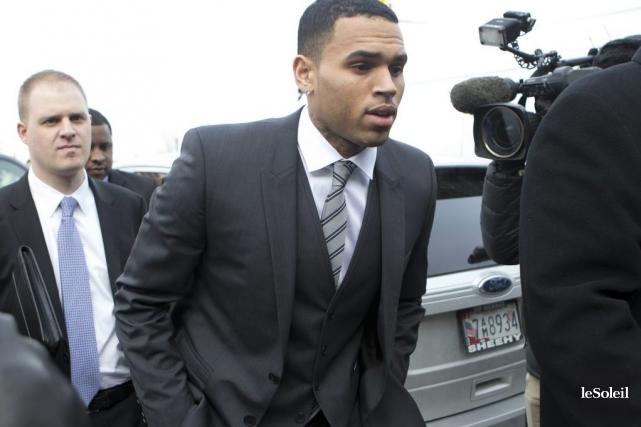 Chris Brown avait été condamné en 2009 à... (Photothèque Le Soleil)