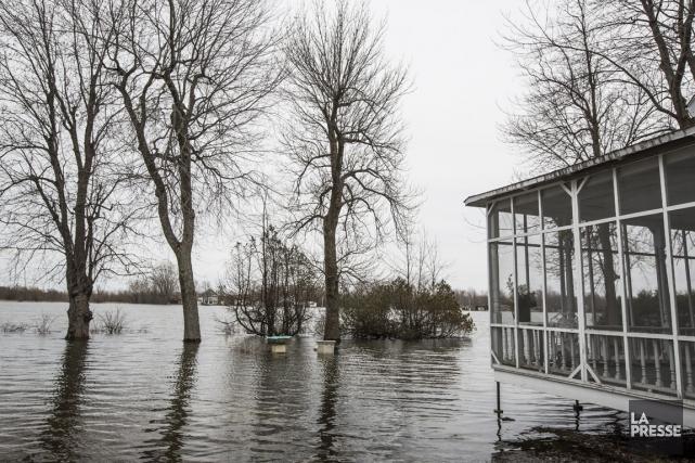 La situation demeure préoccupante dans la région de... (PHOTO OLIVIER PONTBRIAND, LA PRESSE)