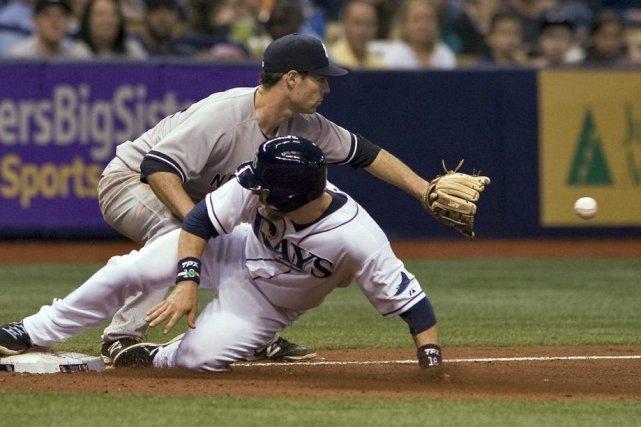 Les Rays de Tampa Bay ont comblé un... (Photo STEVE NESIUS, AP)