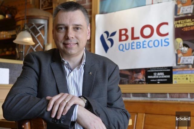 Le député André Bellavance est le seul candidat... (PHOTO PASCAL RATTHÉ, LE SOLEIL)