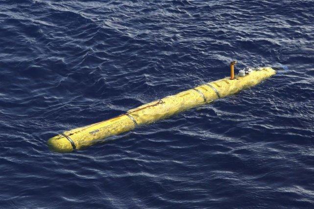 Le sous-marin «Bluefin 21» a complété six missions... (Photo Reuters)