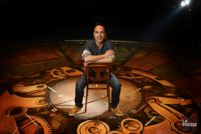 Michel Laprise, qui dit réaliser un rêve en... (Photo Bernard Brault, La Presse)