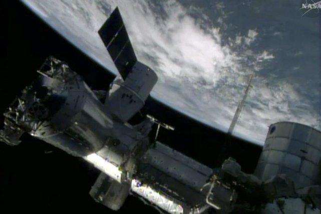 Il s'agit de la troisième des 12 missions... (PHOTO FOURNIE PAR LA NASA)