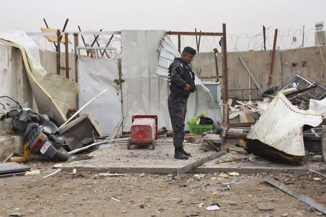 L'attaque contre un collège chiite s'est déroulée dans... (Photo Wissm al-Okili, Reuters)