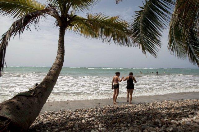 Haïti a accueilli 420000 visiteurs en 2013, dont... (PHOTO LA PRESSE CANADIENNE)