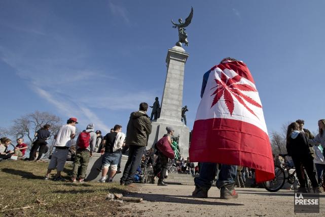 L'événement, connu sous le nom de «4-20», a... (Photo Robert Skinner, La Presse)