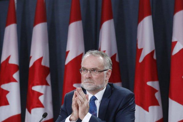 Le vérificateur général Michael Ferguson a été contraint... (Photo Chris Wattie, archives Reuters)