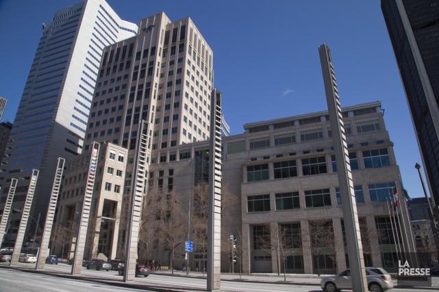 Le siège de l'OACI, au centre-ville de Montréal.... (PHOTO ALAIN ROBERGE, LA PRESSE)