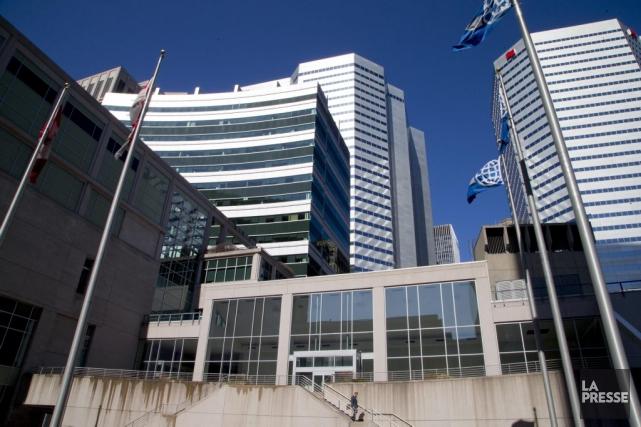 Les bureaux de l'OACI à Montréal.... (PHOTO ALAIN ROBERGE, LA PRESSE)