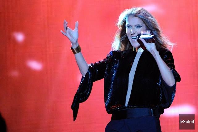 Tourné le 27 juillet 2013,Céline une seule fois/Live... (PHOTO JEAN-MARIE VILLENEUVE, ARCHIVES LE SOLEIL)