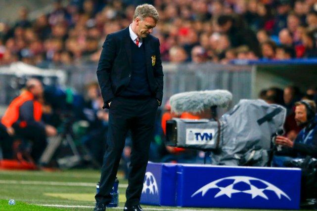 L'entraîneur de Manchester United, David Moyes.... (Photo Michael Dalder, Reuters)