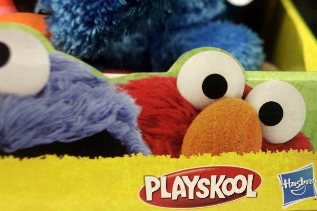 Des jouets fabriqués par Hasbro.... (Photo archives Associated Press)