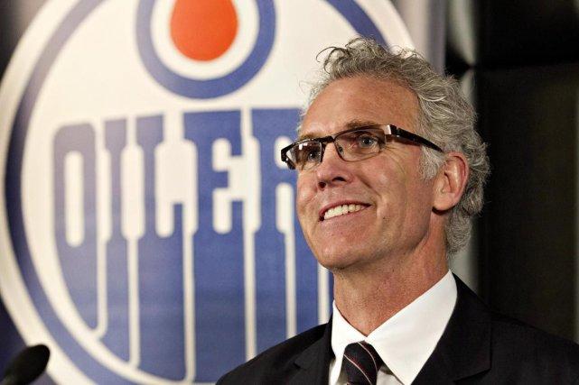 Le DG des Olilers Craig MacTavish.... (PHOTO ARCHIVES LA PRESSE CANADIENNE)