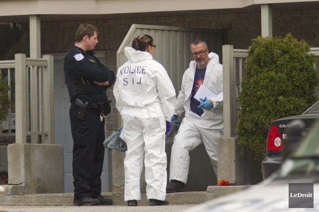 L'homicide s'est produit le dimanche de Pâques, en... (Martin Roy, Archives Le Droit)