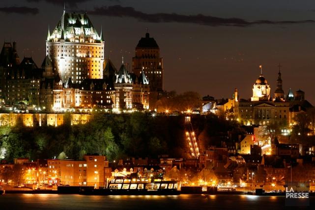 Québec est la destination préférée des Québécois.... (Photo archives La Presse)