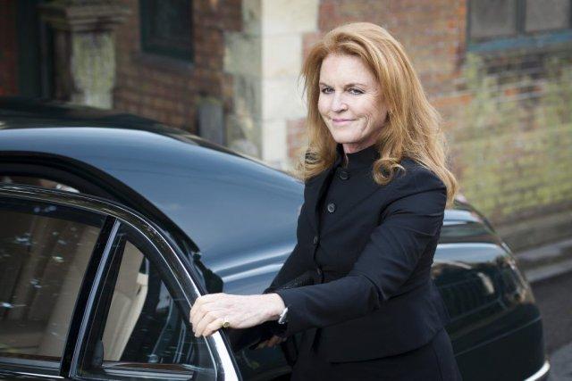 La duchesse de York Sarah Ferguson.... (PHOTO LEON NEAL, AFP)