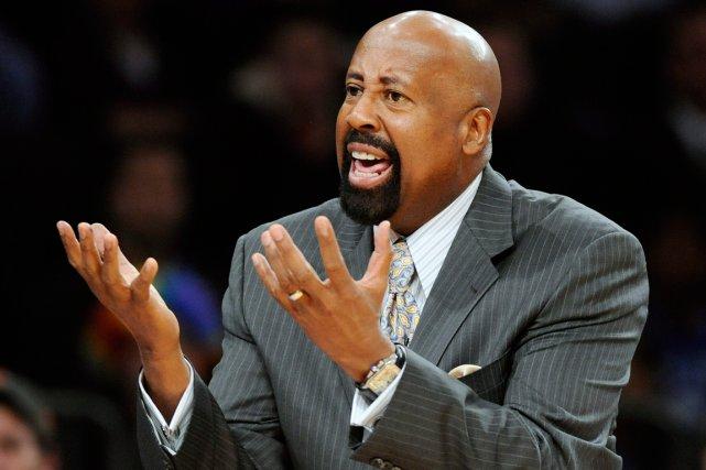 L'entraîneur des Knicks de New York, Mike Woodson.... (Photo Bill Kostroun, AP)