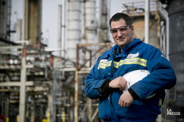 Jean-François Huot est technicien de procédés chimiques depuis... (PHOTO DAVID BOILY, LA PRESSE)