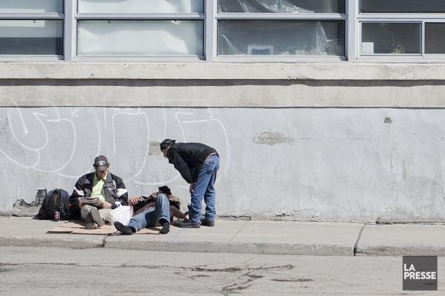 Environ 28500 Canadiens dorment dans la rue chaque... (Photo: Marco Campanozzi, Archives La Presse)