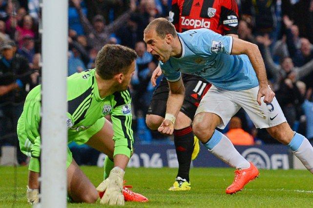 Vainqueur facile de West Bromwich Albion (3-1) lundi soir en match décalé de la... (Photo: AFP)