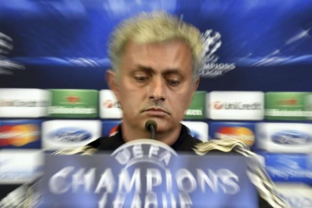 L'entraîneur de Chelsea José Mourinho.... (Photo: AFP)