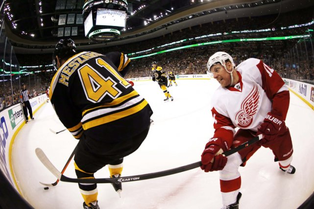 Les Red Wings de Detroit ont compris ce qu'ils devaient faire pour venir à bout... (Photo: AP)