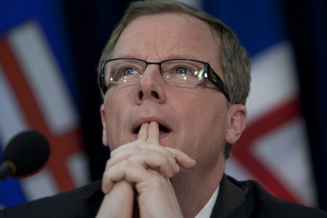 Brad Wall, premier ministre de la Saskatchewan, continue... (Archives PC)